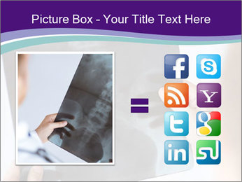 Doctor holding x-ray PowerPoint Templates - Slide 21