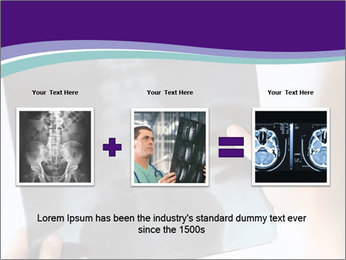 Doctor holding x-ray PowerPoint Templates - Slide 22