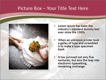 Bride's flowers PowerPoint Templates - Slide 13