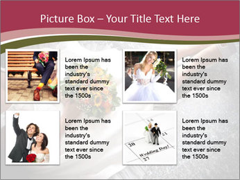 Bride's flowers PowerPoint Templates - Slide 14