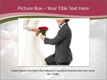 Bride's flowers PowerPoint Templates - Slide 15