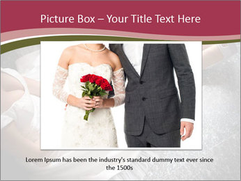 Bride's flowers PowerPoint Templates - Slide 16