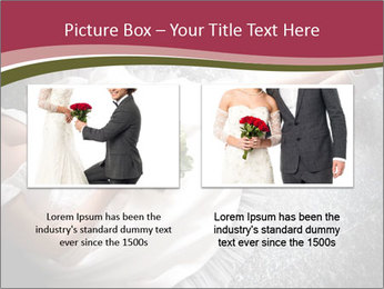 Bride's flowers PowerPoint Templates - Slide 18