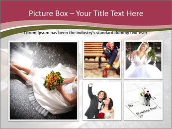 Bride's flowers PowerPoint Templates - Slide 19
