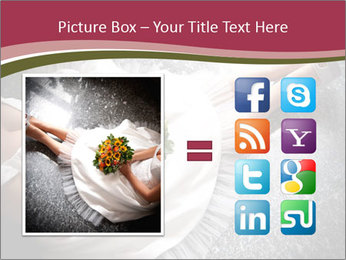 Bride's flowers PowerPoint Templates - Slide 21