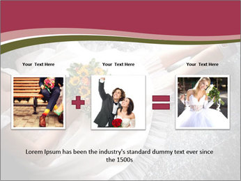 Bride's flowers PowerPoint Templates - Slide 22