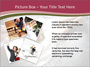 Bride's flowers PowerPoint Templates - Slide 23