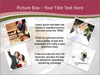 Bride's flowers PowerPoint Templates - Slide 24