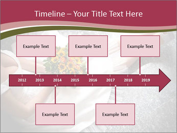 Bride's flowers PowerPoint Templates - Slide 28