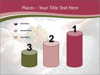 Bride's flowers PowerPoint Templates - Slide 65