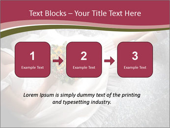 Bride's flowers PowerPoint Templates - Slide 71