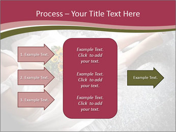 Bride's flowers PowerPoint Templates - Slide 85