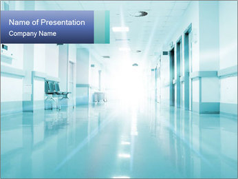 Rays of light PowerPoint Template