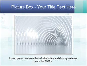 Rays of light PowerPoint Template - Slide 16