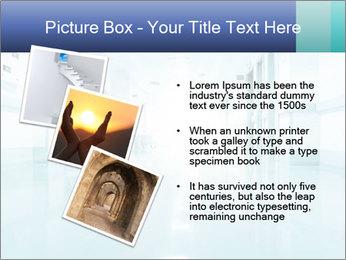 Rays of light PowerPoint Template - Slide 17
