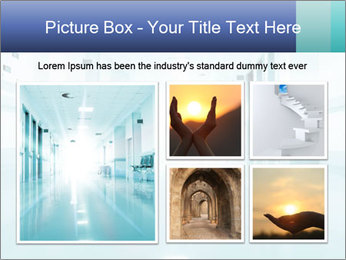 Rays of light PowerPoint Template - Slide 19