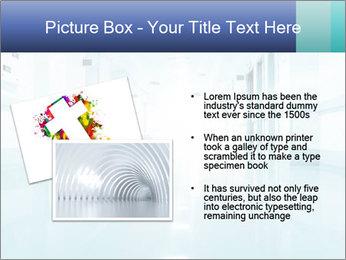 Rays of light PowerPoint Template - Slide 20