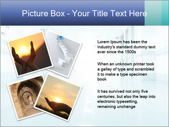 Rays of light PowerPoint Template - Slide 23