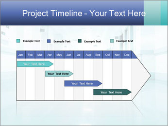 Rays of light PowerPoint Template - Slide 25