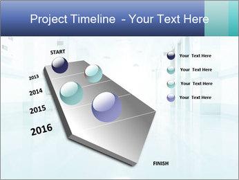 Rays of light PowerPoint Template - Slide 26