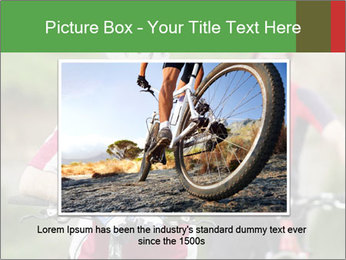 Smiling cyclists PowerPoint Template - Slide 15