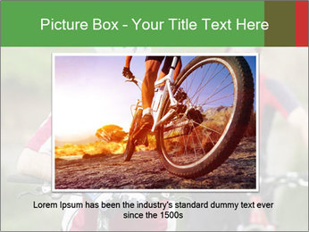 Smiling cyclists PowerPoint Template - Slide 16