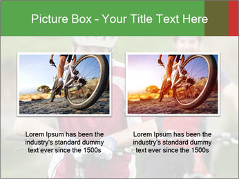 Smiling cyclists PowerPoint Template - Slide 18