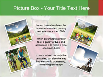 Smiling cyclists PowerPoint Template - Slide 24