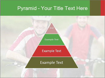 Smiling cyclists PowerPoint Template - Slide 30