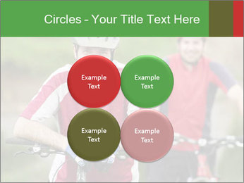 Smiling cyclists PowerPoint Template - Slide 38