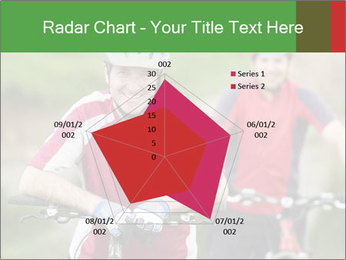 Smiling cyclists PowerPoint Template - Slide 51