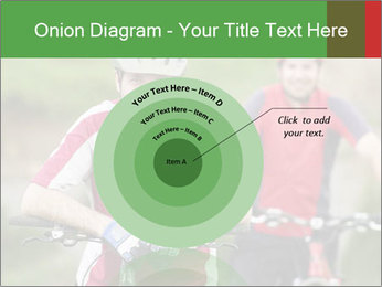 Smiling cyclists PowerPoint Template - Slide 61