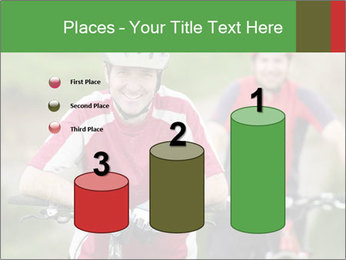 Smiling cyclists PowerPoint Template - Slide 65