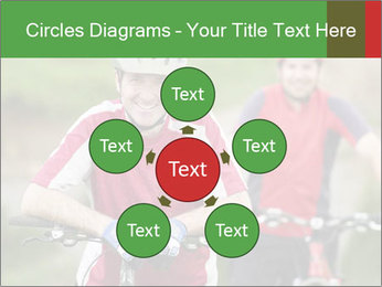 Smiling cyclists PowerPoint Template - Slide 78