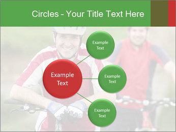 Smiling cyclists PowerPoint Template - Slide 79