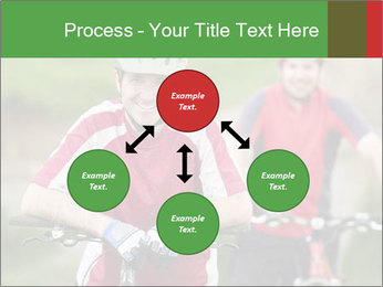 Smiling cyclists PowerPoint Template - Slide 91