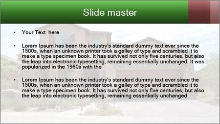 New Luxury Home in Scottsdale PowerPoint Template - Slide 2