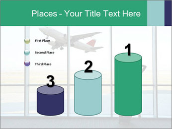 Girl at the airport PowerPoint Template - Slide 65