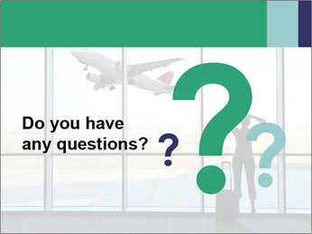 Girl at the airport PowerPoint Template - Slide 96