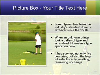 Golf course PowerPoint Templates - Slide 13