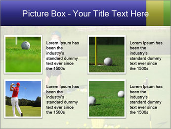 Golf course PowerPoint Templates - Slide 14