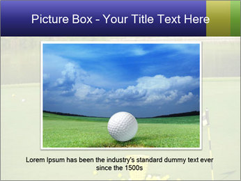 Golf course PowerPoint Templates - Slide 16