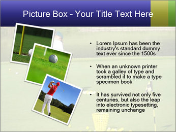 Golf course PowerPoint Templates - Slide 17