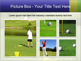 Golf course PowerPoint Templates - Slide 19