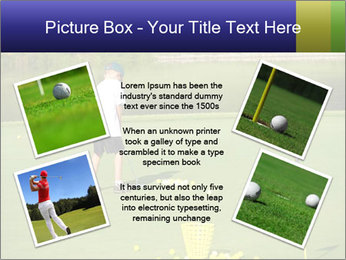 Golf course PowerPoint Templates - Slide 24