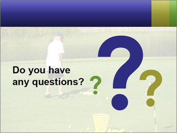 Golf course PowerPoint Templates - Slide 96