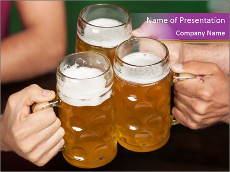 Cheers PowerPoint Templates