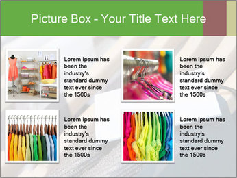 Designer clothes store PowerPoint Template - Slide 14