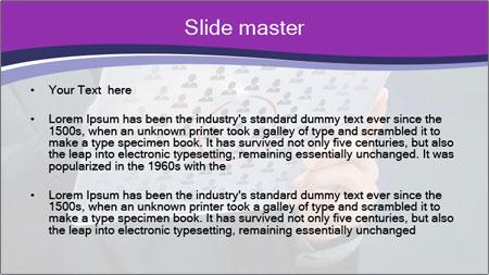Marketing segmentation concept PowerPoint Template - Slide 2