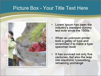 Man reading map PowerPoint Templates - Slide 13